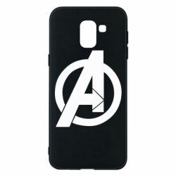 Чохол для Samsung J6 Avengers logo