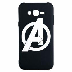 Чохол для Samsung J7 2015 Avengers logo