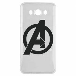 Чохол для Samsung J7 2016 Avengers logo