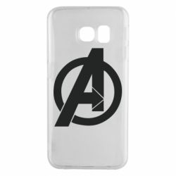 Чохол для Samsung S6 EDGE Avengers logo