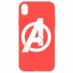 Чохол для iPhone XR Avengers logo