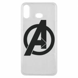 Чохол для Samsung A6s Avengers logo