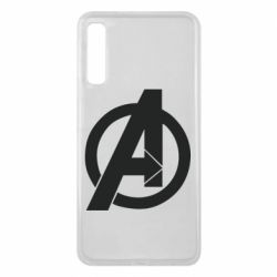 Чохол для Samsung A7 2018 Avengers logo