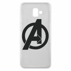 Чохол для Samsung J6 Plus 2018 Avengers logo
