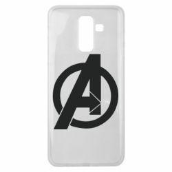 Чохол для Samsung J8 2018 Avengers logo