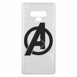 Чохол для Samsung Note 9 Avengers logo