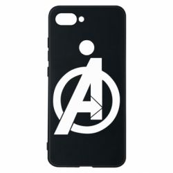 Чехол для Xiaomi Mi8 Lite Avengers logo