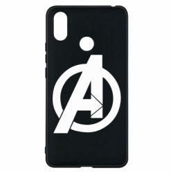 Чехол для Xiaomi Mi Max 3 Avengers logo