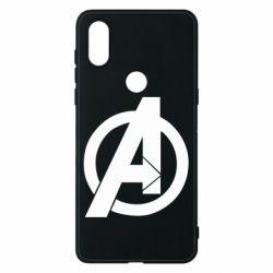 Чехол для Xiaomi Mi Mix 3 Avengers logo