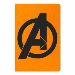 Блокнот А5 Avengers logo