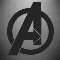 Наклейка Avengers logo