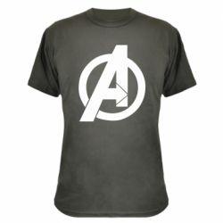 Камуфляжна футболка Avengers logo