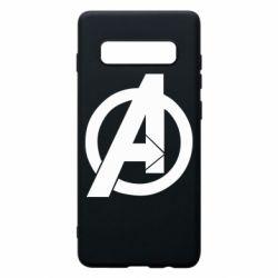 Чохол для Samsung S10+ Avengers logo