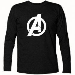 Футболка з довгим рукавом Avengers logo
