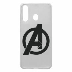 Чохол для Samsung A60 Avengers logo