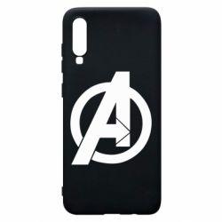 Чохол для Samsung A70 Avengers logo