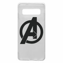Чохол для Samsung S10 Avengers logo