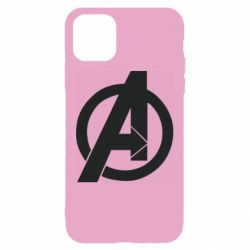 Чохол для iPhone 11 Avengers logo