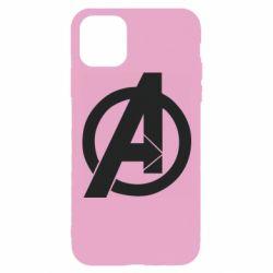 Чохол для iPhone 11 Pro Avengers logo