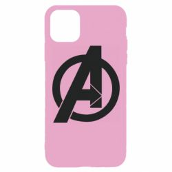 Чохол для iPhone 11 Pro Max Avengers logo