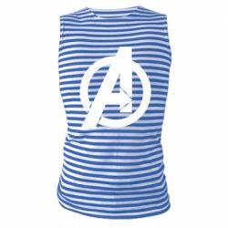 Майка-тільняшка Avengers logo