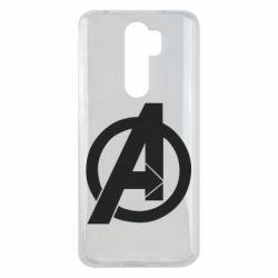 Чехол для Xiaomi Redmi Note 8 Pro Avengers logo