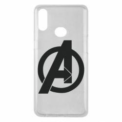 Чохол для Samsung A10s Avengers logo