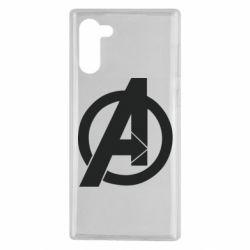 Чохол для Samsung Note 10 Avengers logo