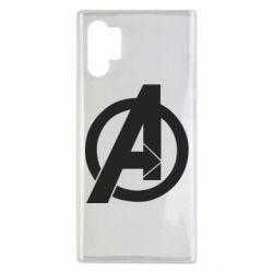 Чохол для Samsung Note 10 Plus Avengers logo
