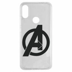 Чехол для Xiaomi Redmi Note 7 Avengers logo