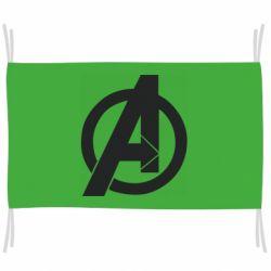 Прапор Avengers logo