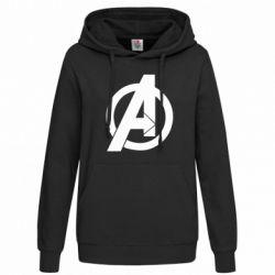 Толстовка жіноча Avengers logo