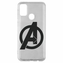 Чохол для Samsung M30s Avengers logo