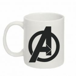 Кружка 320ml Avengers logo