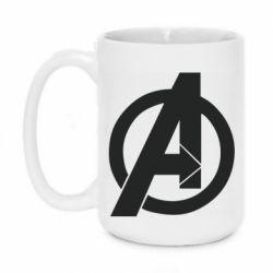 Кружка 420ml Avengers logo