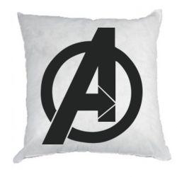 Подушка Avengers logo