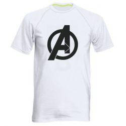 Чоловіча спортивна футболка Avengers logo