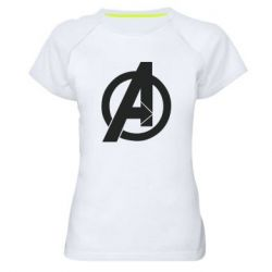 Жіноча спортивна футболка Avengers logo
