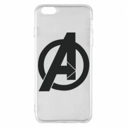 Чохол для iPhone 6 Plus/6S Plus Avengers logo