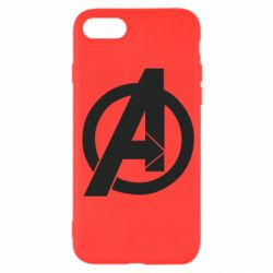 Чохол для iPhone 7 Avengers logo