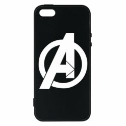 Чохол для iphone 5/5S/SE Avengers logo