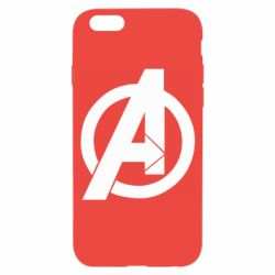 Чохол для iPhone 6/6S Avengers logo