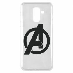 Чохол для Samsung A6+ 2018 Avengers logo