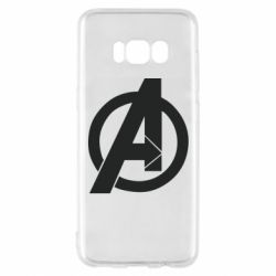 Чохол для Samsung S8 Avengers logo