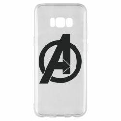 Чохол для Samsung S8+ Avengers logo