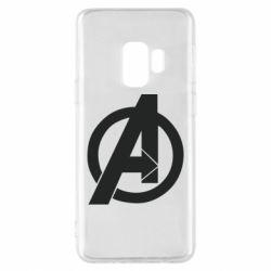 Чохол для Samsung S9 Avengers logo