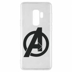 Чохол для Samsung S9+ Avengers logo