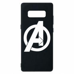 Чохол для Samsung Note 8 Avengers logo
