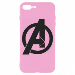 Чохол для iPhone 8 Plus Avengers logo