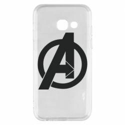 Чохол для Samsung A3 2017 Avengers logo